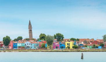 Tour delle isole Murano, Burano e Torcello con parcheggio auto