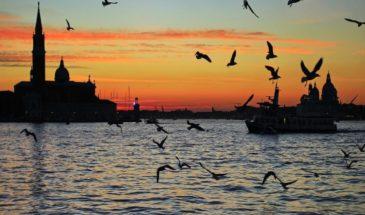 sunset isola San Giorgio